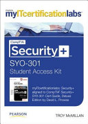 Comptia Security Myitcertificationlabs Student Access Code Card Sy0 301