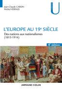 Pdf L'Europe au 19e siècle - 4e éd. Telecharger