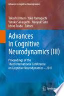Advances in Cognitive Neurodynamics  III  Book