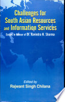 Challenges For South Asian Resources And Information Services