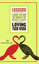 Loving Your Work