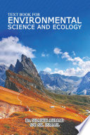 Text book for Environmental science and Ecology