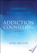 Learning The Language Of Addiction Counseling Book PDF