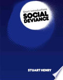 Social Deviance Book PDF
