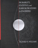 Probability Statistics And Random Processes For Engineers Book PDF
