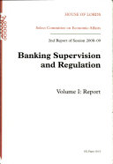Banking supervision and regulation