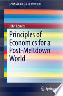 Principles of Economics for a Post Meltdown World