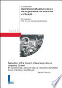 Evaluation of the Impact of Learning Labs on Inventory Control