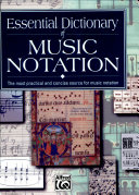 Essential Dictionary of Music Notation (Pocket Size Book)