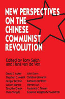 New Perspectives on the Chinese Communist Revolution