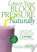 Lower Your Blood Pressure Naturally Book
