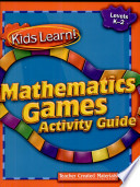 Kids Learn! Mathematics Games: Grades K-2 Kit