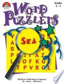 Word Puzzlers Grades 3 4 Enhanced Ebook