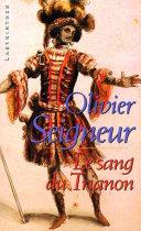Pdf Le sang du Trianon Telecharger
