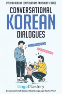 Conversational Korean Dialogues