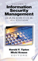 Information Security Management Handbook Fourth Edition Volume Iii Book PDF