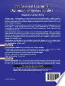 """PROFESSIONAL LEARNER'S DICTIONARY OF SPOKEN ENGLISH"" by DASH, RAJENDRA KUMAR"