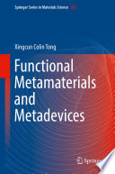 Functional Metamaterials and Metadevices Book