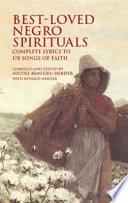 Best loved Negro Spirituals