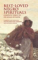 Best-loved Negro Spirituals ebook