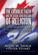 Pdf The Catholic Faith and the Social Construction of Religion Telecharger