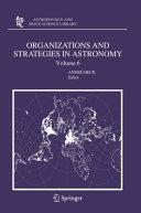Organizations and Strategies in Astronomy 6 [Pdf/ePub] eBook