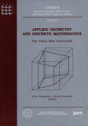 Applied Geometry and Discrete Mathematics