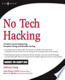 No Tech Hacking Book