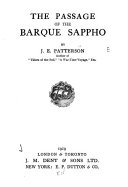 The Passage of the Barque Sappho