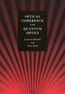 Optical Coherence and Quantum Optics