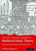 The Renaissance Reform of Medieval Music Theory
