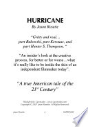 Hurricane  : An Untamed Journey Into the American Dream