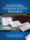 Adventures In Criminal Justice Research Book PDF
