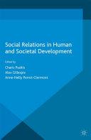 Social Relations in Human and Societal Development Pdf/ePub eBook
