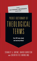 Pocket Dictionary of Theological Terms Pdf