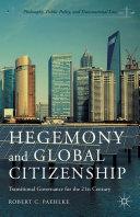 Hegemony and Global Citizenship [Pdf/ePub] eBook