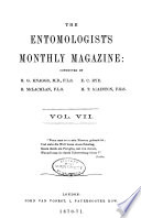 The Entomologist s Monthly Magazine