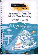 Multimedia Texts for Whole Class Teaching