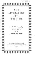 The Literature of Fashion