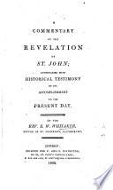 A Commentary On The Revelation Of St John