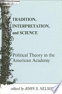 Tradition  Interpretation  and Science