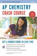 AP Chemistry Crash Course Book   Online