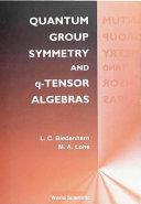 Quantum Group Symmetry and Q-Tensor Algebras [Pdf/ePub] eBook