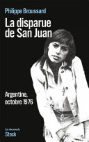 Pdf La disparue de San Juan Telecharger