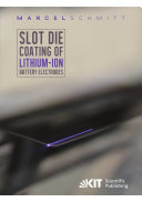 Slot die coating of lithium-ion battery electrodes [Pdf/ePub] eBook