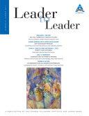 Leader to Leader  LTL   Summer 2011