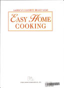 America s Favorite Brand Name Easy Home Cooking
