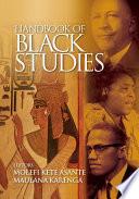 Handbook of Black Studies Book PDF