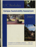 UC Berkeley Campus Sustainability Assessment 2005 Book