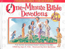 One Minute Bible Devotions for Kids